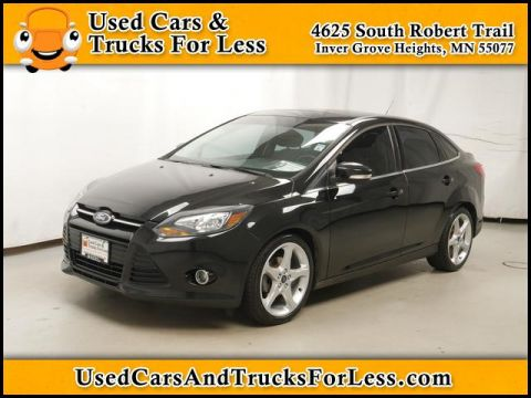 Pre-Owned 2013 Ford Focus  FWD Sedan