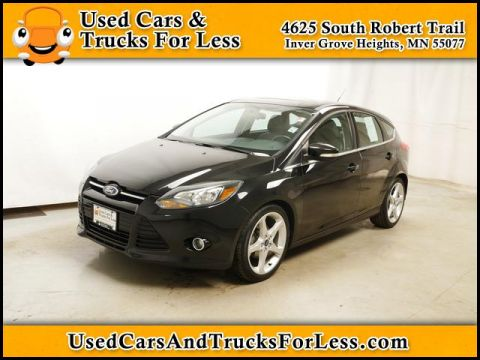 Pre-Owned 2013 Ford Focus  FWD Hatchback