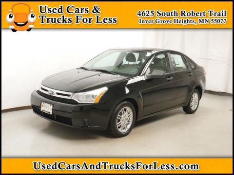 Pre-Owned 2009 Ford Focus  FWD Sedan