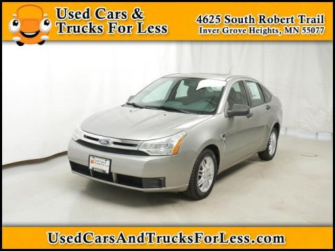 Pre-Owned 2008 Ford Focus  FWD Sedan