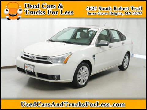 Pre-Owned 2009 Ford Focus SEL FWD 4dr Car