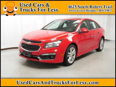 Pre-Owned 2015 Chevrolet Cruze  FWD Sedan