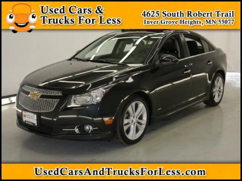 Pre-Owned 2011 Chevrolet Cruze LTZ FWD 4dr Car
