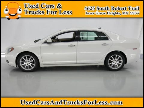 Pre-Owned 2010 Chevrolet Malibu LTZ FWD 4dr Car