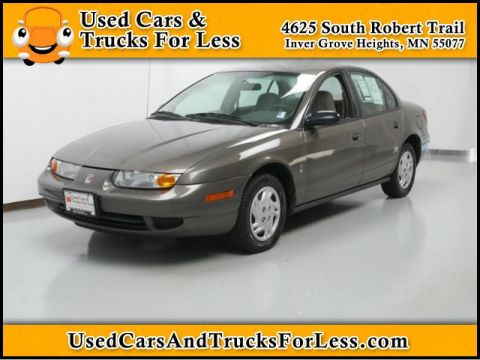 Pre-Owned 2001 Saturn SL  FWD 4dr Car