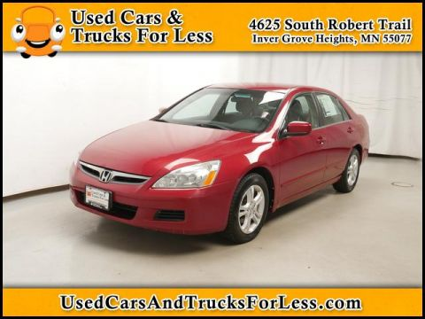 Pre-Owned 2007 Honda Accord  FWD Sedan