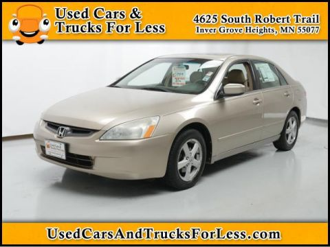 Pre-Owned 2003 Honda Accord Sdn  Front Wheel Drive 4dr Car