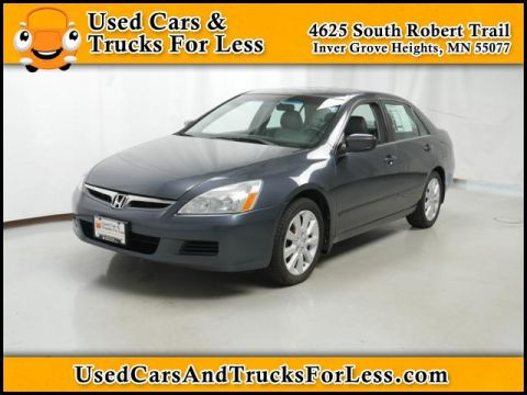 Pre-Owned 2006 Honda Accord Sdn EX-L V6 FWD 4dr Car