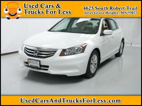 Pre-Owned 2012 Honda Accord Sdn  Front Wheel Drive 4dr Car