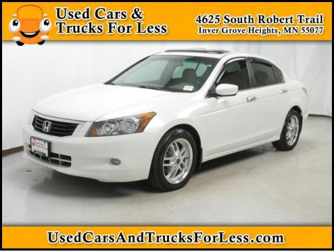 Pre-Owned 2008 Honda Accord Sdn  Front Wheel Drive 4dr Car