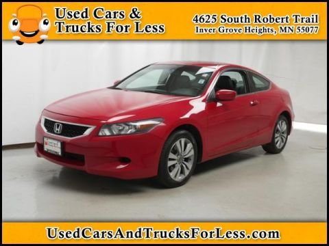 Pre-Owned 2008 Honda Accord Cpe   2dr Car