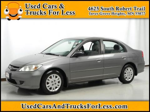 Pre-Owned 2004 Honda Civic LX FWD 4dr Car