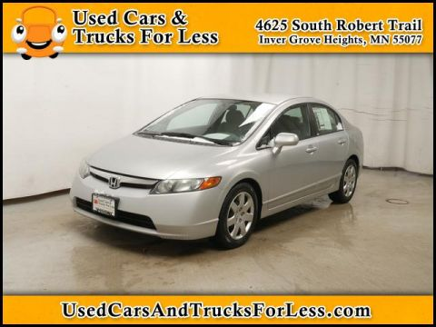 Pre-Owned 2008 Honda Civic  FWD Sedan