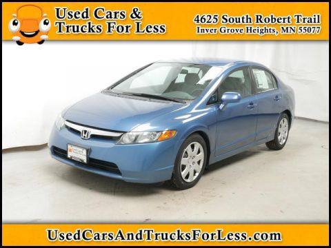 Pre-Owned 2006 Honda Civic Sdn  FWD Sedan