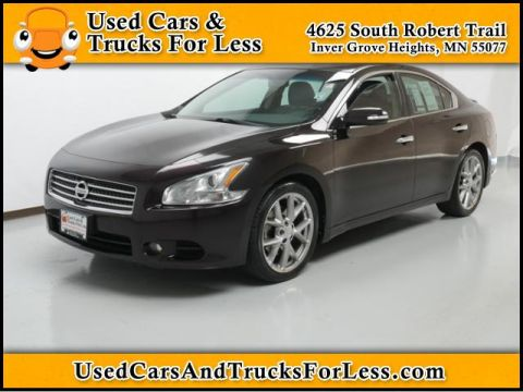 Pre-Owned 2010 Nissan Maxima  Front Wheel Drive 4dr Car
