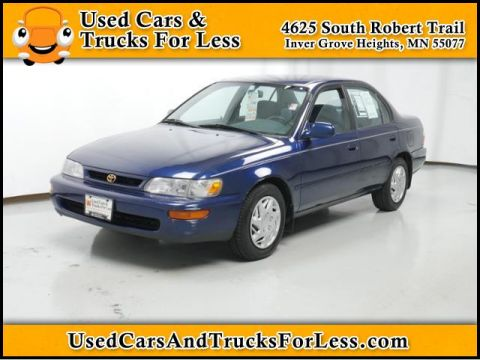 Pre-Owned 1997 Toyota Corolla  Front Wheel Drive 4dr Car