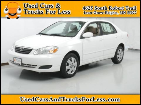 Pre-Owned 2005 Toyota Corolla  Front Wheel Drive 4dr Car