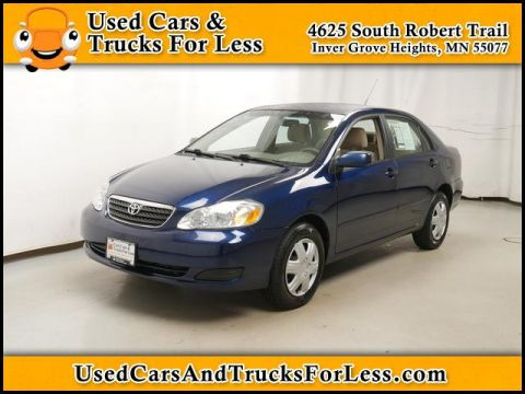Pre Owned 2007 Toyota Corolla FWD Sedan
