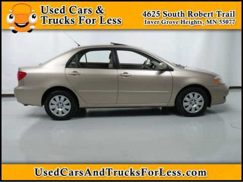 Pre-Owned 2004 Toyota Corolla  Front Wheel Drive 4dr Car