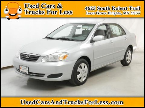 Pre-Owned 2007 Toyota Corolla  Front Wheel Drive 4dr Car
