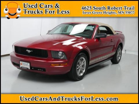 Pre-Owned 2005 Ford Mustang  Rear Wheel Drive 2dr Car