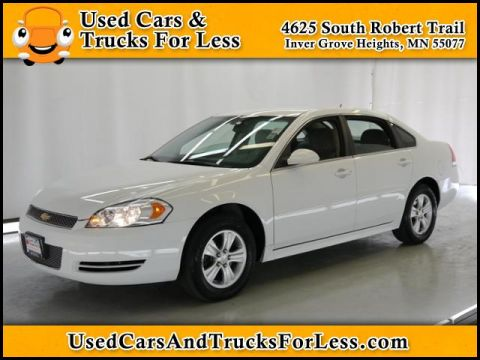 Pre-Owned 2012 Chevrolet Impala LS Retail FWD 4dr Car