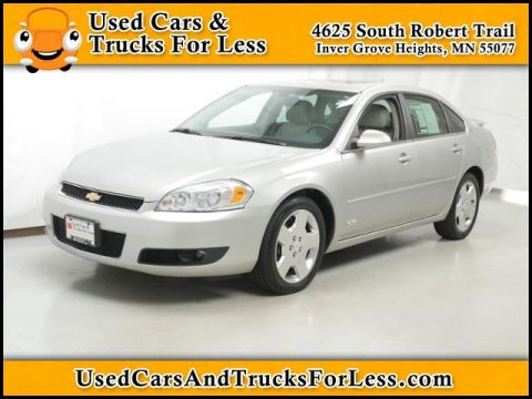 Pre-Owned 2008 Chevrolet Impala SS FWD 4dr Car