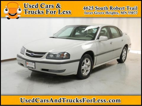 Pre-Owned 2003 Chevrolet Impala LS FWD 4dr Car