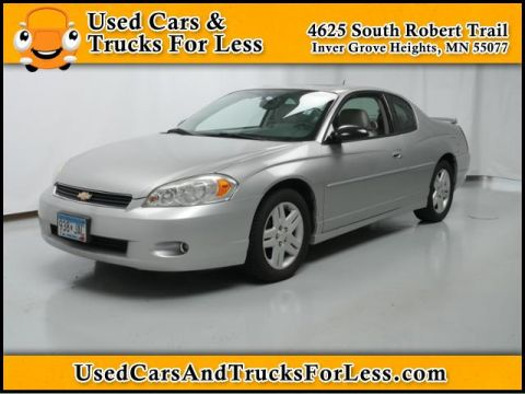 Pre-Owned 2006 Chevrolet Monte Carlo LTZ FWD 2dr Car