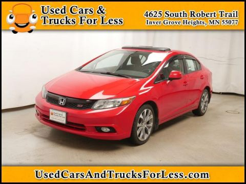 Pre-Owned 2012 Honda Civic  FWD Sedan