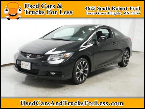 Pre-Owned 2013 Honda Civic Cpe  Front Wheel Drive 2dr Car