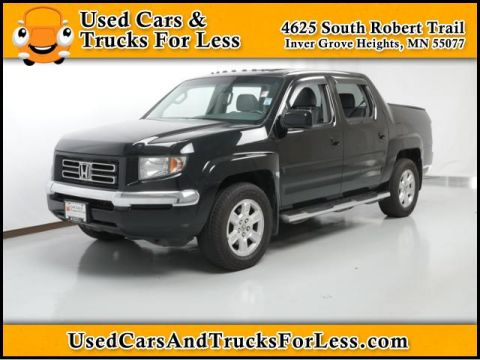 Pre-Owned 2008 Honda Ridgeline  Four Wheel Drive Crew Cab Pickup