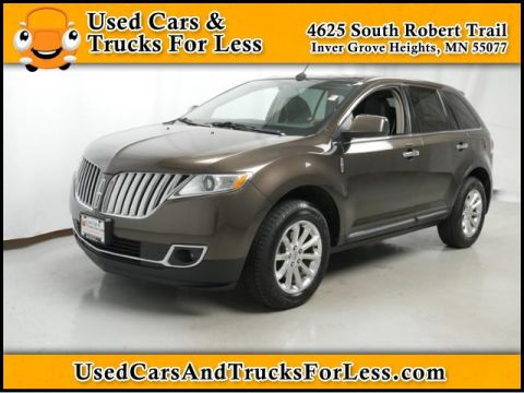 Pre-Owned 2011 Lincoln MKX  AWD