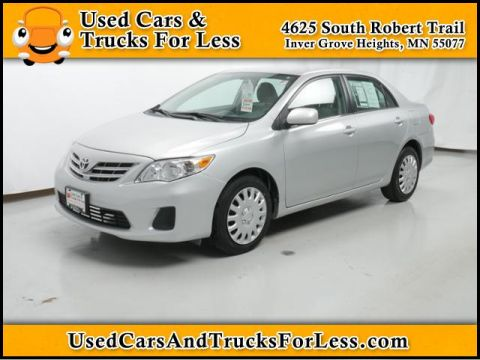 Pre-Owned 2013 Toyota Corolla  Front Wheel Drive 4dr Car