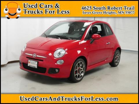 Pre-Owned 2012 Fiat 500 Sport FWD 2dr Car