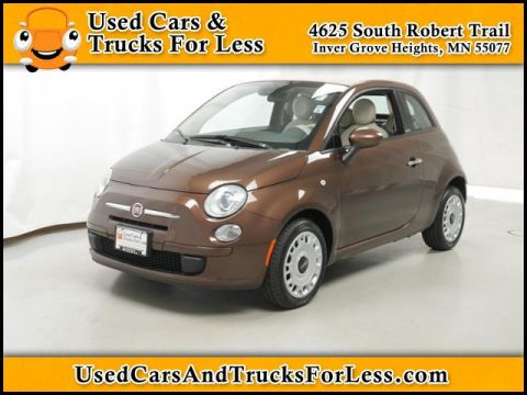 Pre-Owned 2013 Fiat 500 Pop FWD 2dr Car