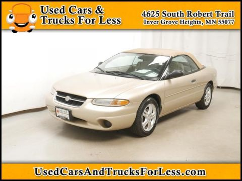 Pre-Owned 1998 Chrysler Sebring  FWD Convertible
