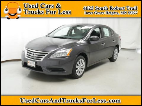 Pre-Owned 2014 Nissan Sentra SV FWD Sedan