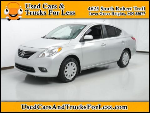 Pre-Owned 2012 Nissan Versa  Front Wheel Drive 4dr Car