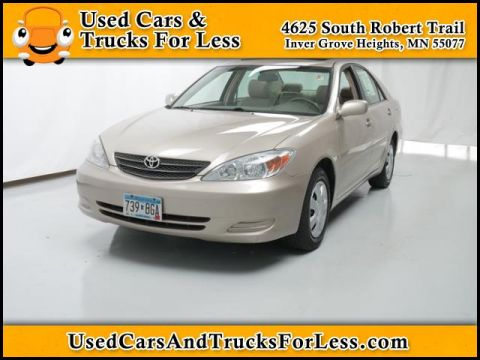 Pre-Owned 2002 Toyota Camry  Front Wheel Drive 4dr Car