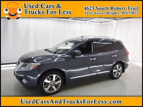 Pre-Owned 2013 Nissan Pathfinder Platinum AWD