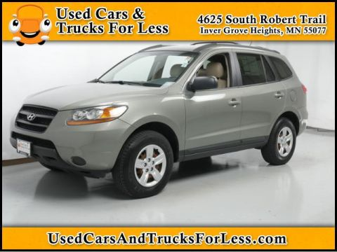 Pre-Owned 2009 Hyundai Santa Fe  All Wheel Drive Sport Utility