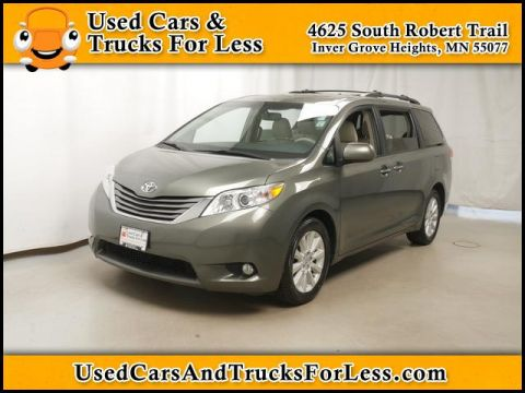 Pre-Owned 2012 Toyota Sienna  AWD