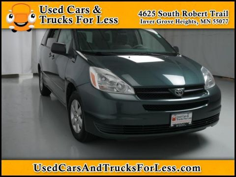 Pre-Owned 2004 Toyota Sienna  Front Wheel Drive Mini-van Passenger