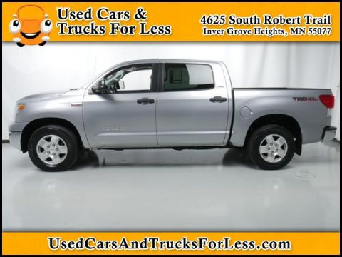 Pre-Owned 2010 Toyota Tundra 4WD Truck  Four Wheel Drive Crew Cab Pickup