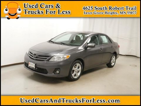 Pre-Owned 2013 Toyota Corolla  FWD Sedan