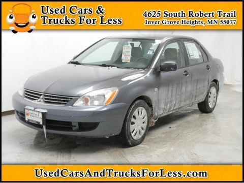 Pre-Owned 2006 Mitsubishi Lancer  Front Wheel Drive 4dr Car