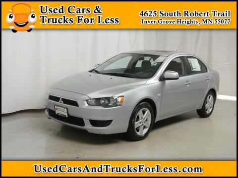 Pre-Owned 2008 Mitsubishi Lancer  FWD Sedan