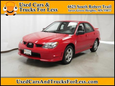 Pre-Owned 2006 Subaru Impreza Sedan i AWD