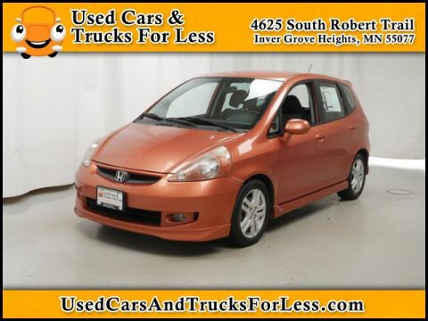 Pre-Owned 2007 Honda Fit  FWD Hatchback